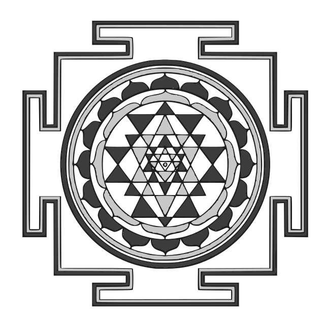 Buddhist Mandala Template