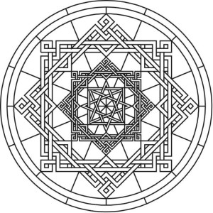 mandala-to-color