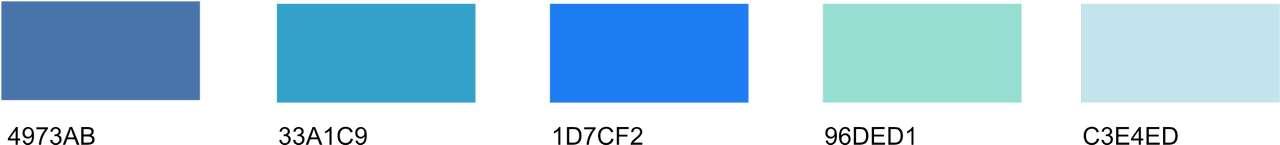 light blue color code