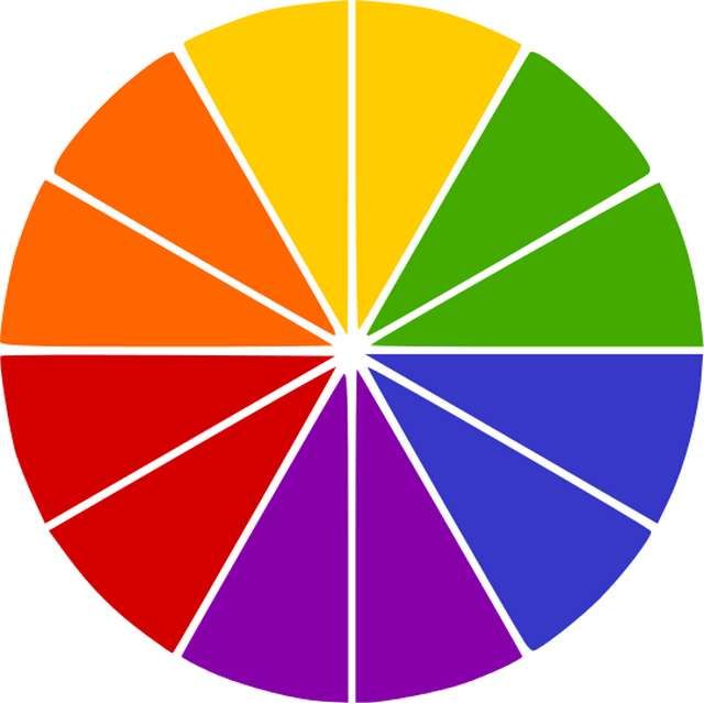 complementary-color-wheel
