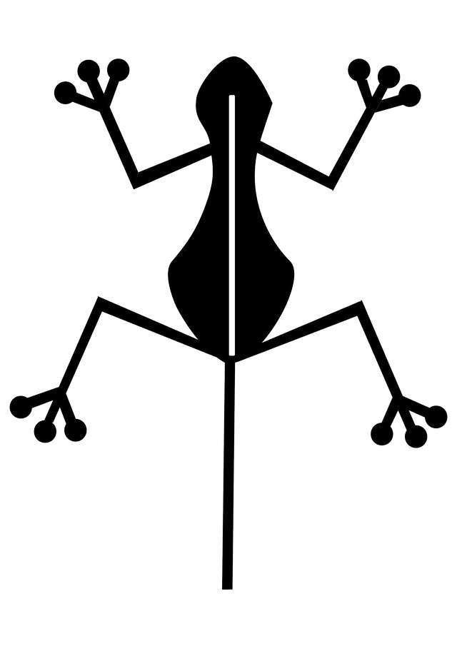 silhouette-clip-art-drawing-of-a-frog